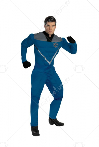 Mr Fantastic Musc Adult Costume