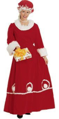 Mrs Claus Adult Costume