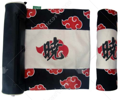 Naruto Akatsuki Scroll Pencil Bag