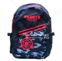 Naruto Itachi Red Print Backpack