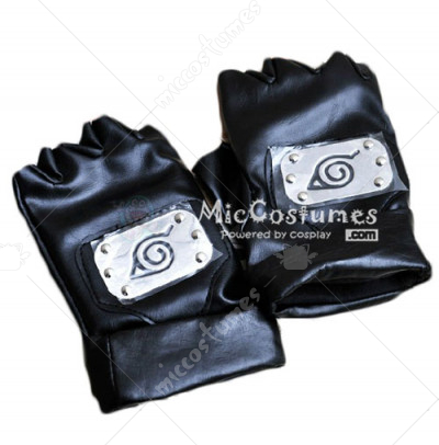 Naruto Kakashi Black Gloves