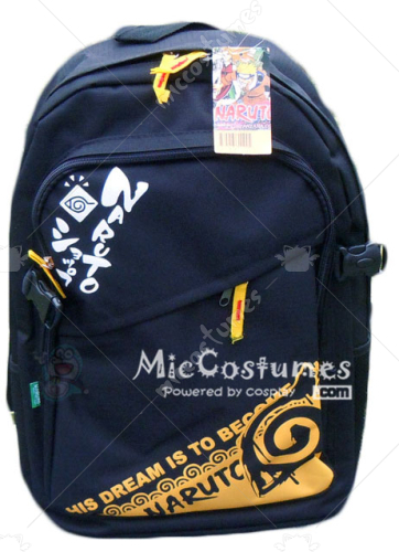 Naruto Konoha Dark Blue Backpack