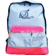 Naruto Konoha Light Blue School Bag