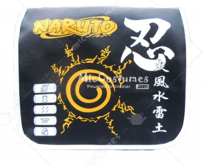 Naruto Konoha Ninetailed Demon Fox Seal Shoulder Bag
