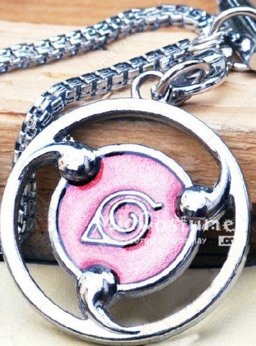 Naruto Konoha Phone Chain