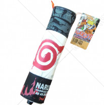 Naruto Konoha Scroll Pencil Bag Red Print