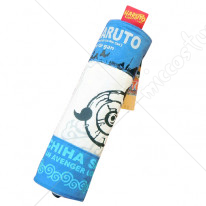Naruto Mangekyou Syaringan Scroll Pencil Bag Blue