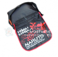 Naruto Red Prints Black Satchel