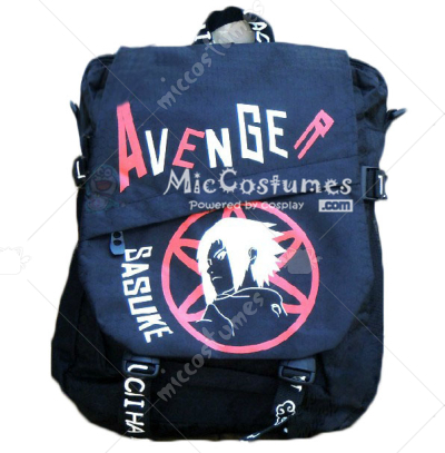 Naruto Sazuke Black Backpack