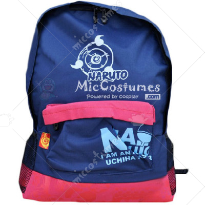 Naruto Sya Rin Gan Blue Backpack