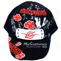 Naruto Uchiha Itachi Red Clouds Cap