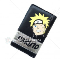Naruto Uzumaki Naruto Long Wallet Black