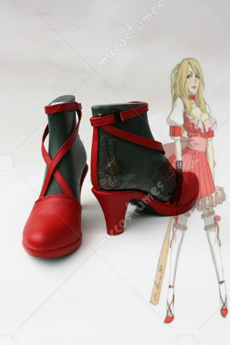 NO More Heroes Bad Girls Cosplay Shoes