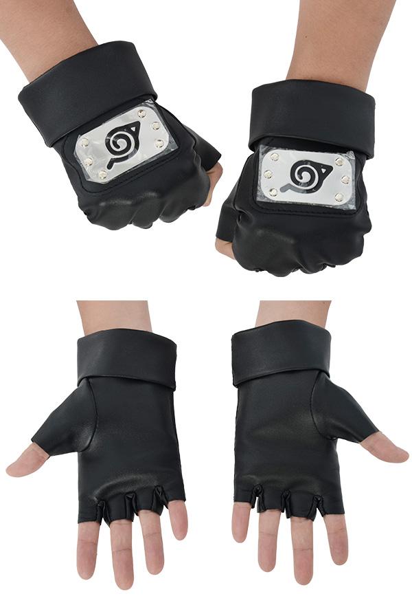 Naruto Leaf Village Lederhandschuhe