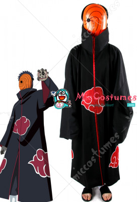 Naruto Akatsuki Tobi Cosplay Costume  sc 1 st  Miccostumes.com & Naruto Akatsuki Tobi Cosplay Costume For Sale at Miccostumes.com