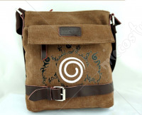 Naruto Uzumaki Seal Canvas Satchel