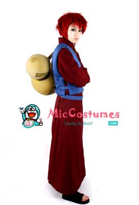 Naruto Gaara Cosplay Costume
