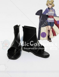 Naruto Temari Cosplay Shoes