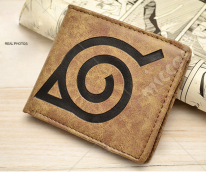Naruto Konoha Leaf Village Mark Bifold Wallet