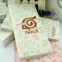 Naruto Leaf Village Long Canvas Wallet