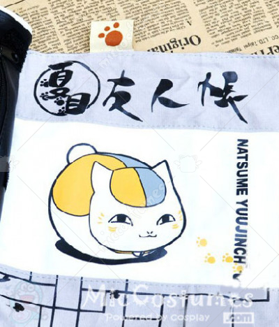Natsume Yūjin chō Nyanko Sensei Scroll Pencil Bag