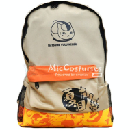 Natsumes Book of Friends Nyanko Sensei Light Orange School Bag