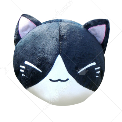 Natsumes Book of Friends Nyanko Sensei Pillow Black