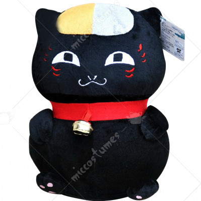 Natsumes Book of Friends Nyanko Sensei Stuffed Toy Black