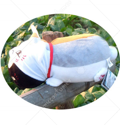 Natsumes Book of Friends Nyanko Sensei Wearing Hat Stuffed Toy