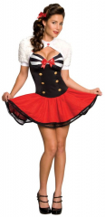 Naval Pinup Adult Female Costume
