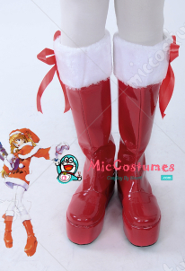 Neon Genesis Evangelion Asuka Langley Soryu Christmas Cosplay Shoes