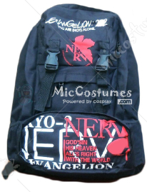 Neon Genesis Evangelion Black Backpack
