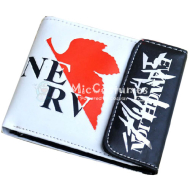 Neon Genesis Evangelion Red Maple Bifold Wallet