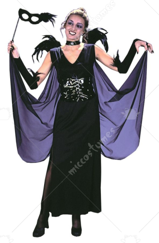 Night Raven Angel Costume
