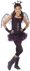 Night Wing Bat Purple Child Costume