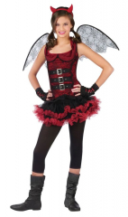 Night Wing Devil Red Child Costume