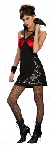 Nightfall Vampira Adult Costume