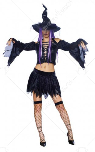 Nightmare Spellcaster Costume