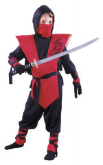 Ninja Complete Red Costume