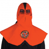 Ninja Devil Half Mask with Hood