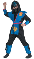 Ninja Shadow Panther Deluxe Costume