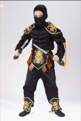 Ninja Warrior Muscle Child Costume