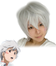 No.6 Shion Cosplay Wig