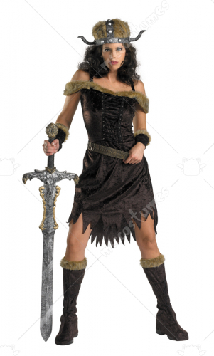 Nordic Babe Viking Adult Costume