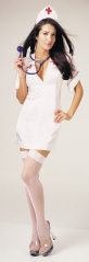 Nurse Sexy Adult Costume With Headpiece