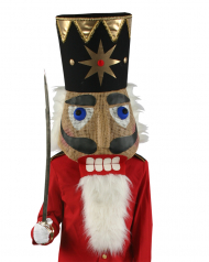Nutcracker Head Adult Costume