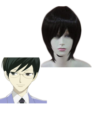 Ouran High School Host Club Kyoya Ootori Cosplay Wig