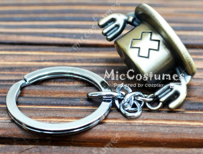 One Piece Chopper Hat Key Ring