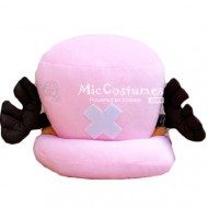 One Piece Chopper Pink Hat Pillow
