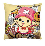 One Piece Chopper Pink Pillow